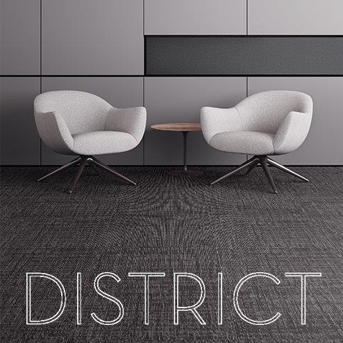 Shaw Contract Carpet District