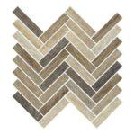 Eleganza Parq Wood Porcelain Park Mosaic