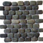 Edge Sliced Pebbles Black Mix GANO22