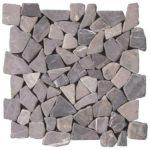Grey Opus Mosaic Interlocking - 12x12 Sheet - MAGR01