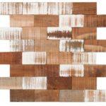 Natural Wood Brick Mix 21x8 - BOMI01