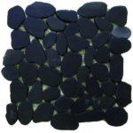 Sliced Pebbles XL Black S GANO23